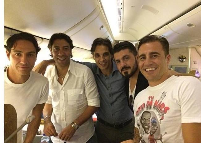 Στην Τζακάρτα με Καναβάρο, Ριβάλντο και επιστροφή Ιταλία – Ελλάδα…