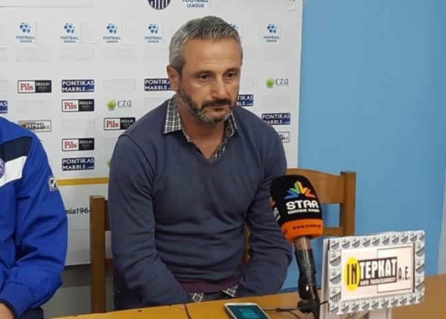 Μπαξεβάνος: «Είναι ένα πάρα πολύ δύσκολο πρωτάθλημα για όλους»