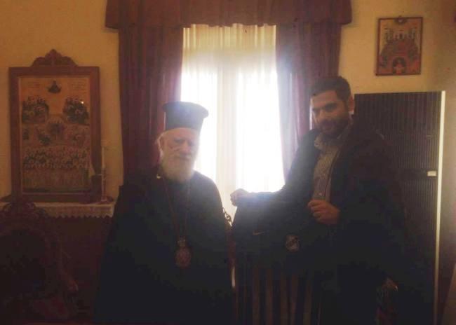Ο ΟΦΗ αρωγός της Αρχιεπισκοπής Κρήτης!