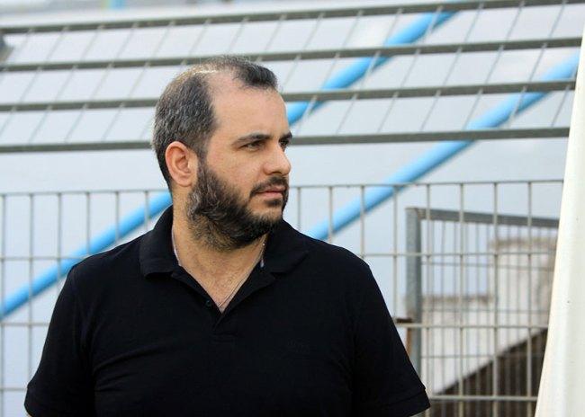 Eμψύχωσε τους ποδοσφαιριστές του o Ροκάκης