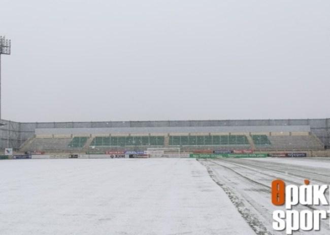 «Χιονοδρομικό κέντρο» το γήπεδο στα Πηγάδια!