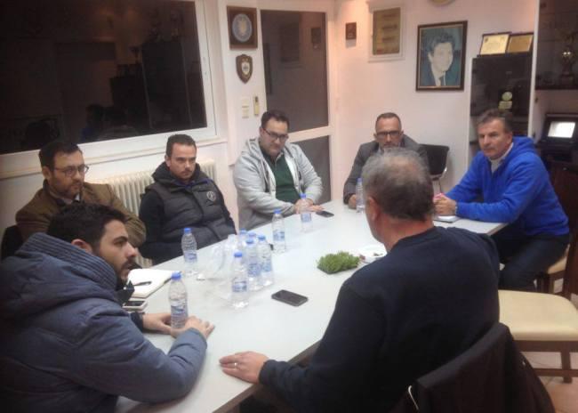 Συνάντηση και ενημέρωση για τα τμήματα υποδομής του ΟΦΗ