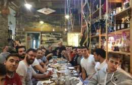 Δείπνο στο τμήμα πόλο του ΟΦΗ απο τον Γιάννη Δανδάλη