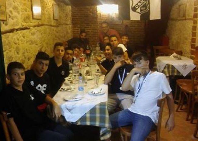 Στον «Γιακουμή» έφαγαν οι πρωταθλητές της Κ13