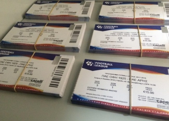 Ξεκίνησε η διάθεση των εισιτηρίων για το ντέρμπι της χρονιάς!