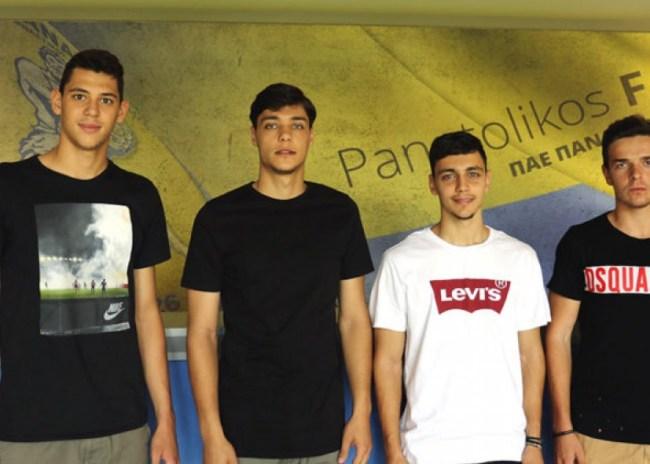 Τέσσερις παίκτες έκανε επαγγελματίες ο Παναιτωλικός