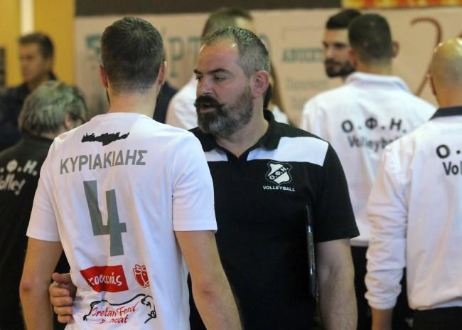 """Ζλατιλίδης: """"Τελικοί τα παιχνίδια με Πανιώνιο, Ρόδο"""""""