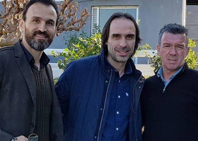 Ο Πουρσανίδης είδε την Κ19 παρέα με τους Σαραβάκο και Νταμπίζα