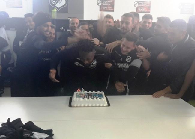 Video   Η τούρτα… έκπληξη του Σάκορ