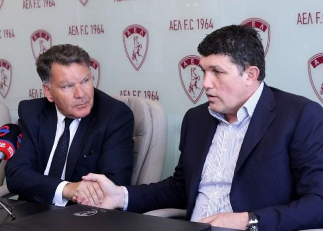 Πέτριτς: «Τελικός κυπέλλου και Ευρώπη με την Λάρισα»