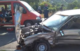 Τροχαίο με εγκλωβισμό στην εθνική οδό Ηρακλείου – Μοιρών