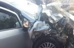 Σοβαρό τροχαίο με 5 τραυματίες στο Σκαλάνι!