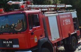 Πυρκαγιές σε Μυλοπόταμο και Ιεράπετρα