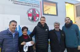 Πετυχημένη η εθελοντική αιμοδοσία στα γήπεδα της Εφόδου