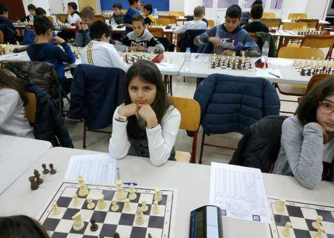 Ξεχώρισαν οι μικροί σκακιστές του ΟΦΗ