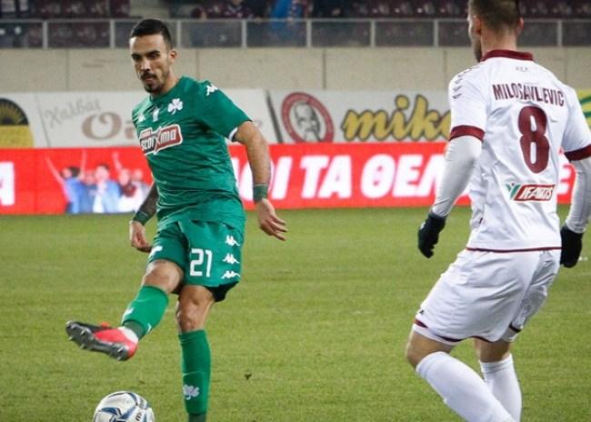 Λάρισα – Παναθηναϊκός 0-2