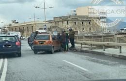Ατύχημα στην παραλιακή του Ηρακλείου