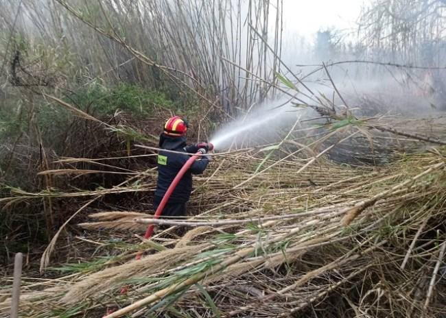 Πυρκαγιά από άγνωστη αιτία στην περιοχή του ποταμού Δρακουλιάρη