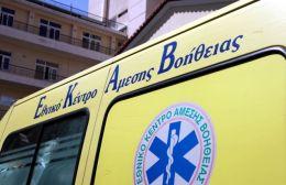 Τροχαίο με τραυματισμό στο Ηράκλειο – Στο νοσοκομείο 35χρονος ντελιβεράς