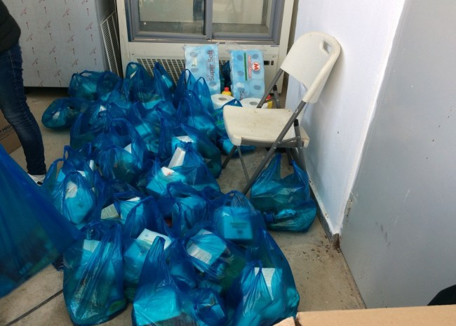 O Δήμος Γόρτυνας συγκέντρωσε τρόφιμα και είδη πρώτης ανάγκης