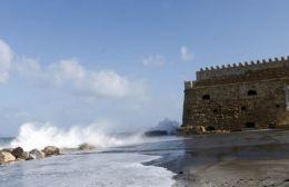 Έντονα καιρικά φαινόμενα σήμερα στην Κρήτη