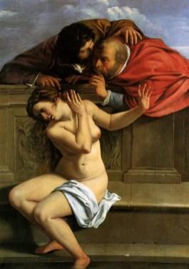 Artemisia Gentileschi, Susanna e gli anziani