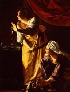 Judith e Maidservante con la testa delle Oloferne