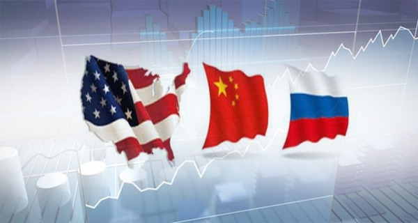 USA China y Rusia