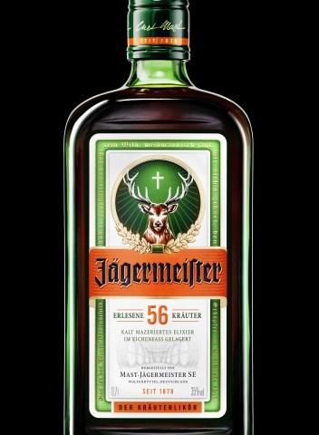 Fünf Drinks mit Jägermeister