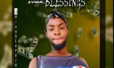 Olaprince - Shower Your Blessings