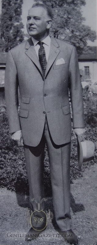 Single Breasted Suit With Ticket Pocket