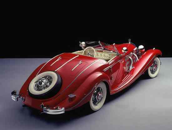 Mercedes Benz 500 K Roadster from 1935