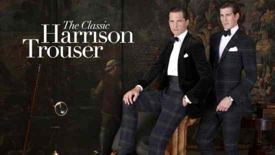 The Harrison Tartan Trousers by Ralph Lauren