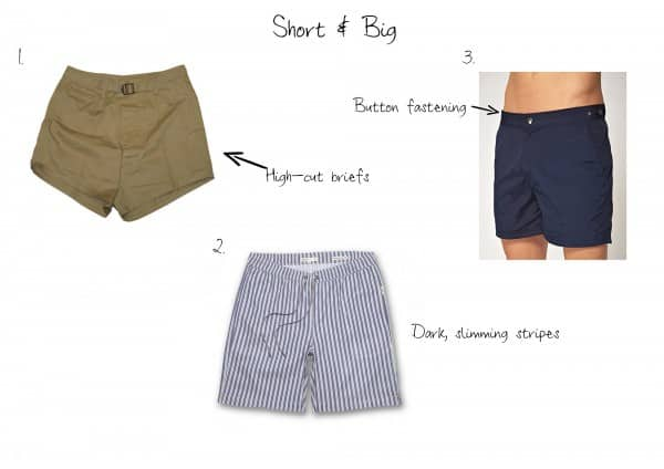 Short & Big swimsuits for men