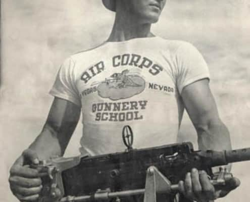 The T-Shirt was popular with soldiers druing WWII