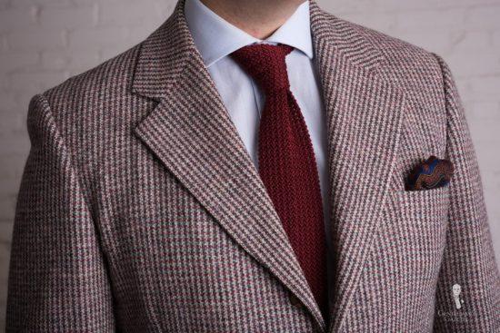 Color depth of tweed is remarkable