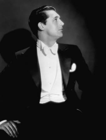 Young Cary Grant in White Tie