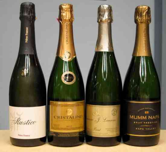 Various Sparkling Wines