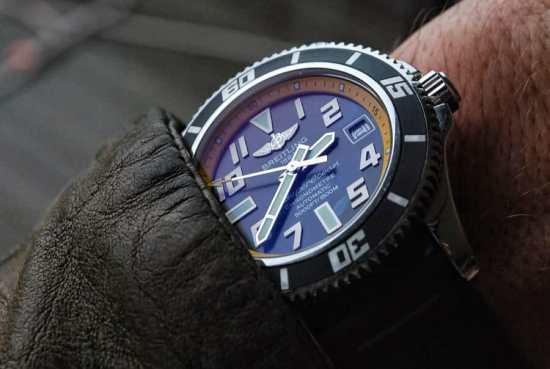 The perfect alternative to the higher priced Rolex is the Breitling Superocean 42 Abyss