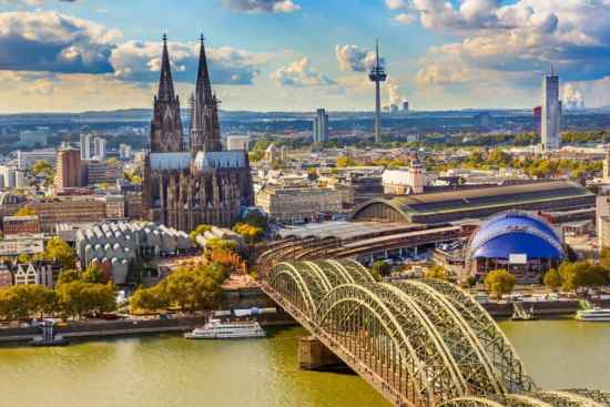 Cologne Germany was the birthplace of the name