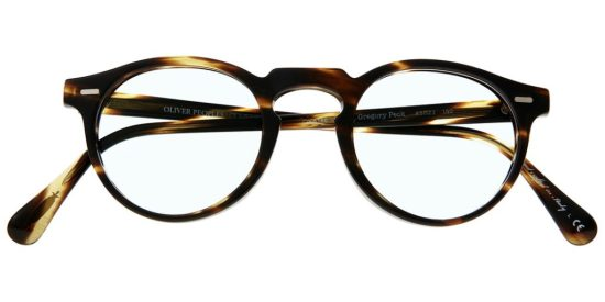 Classic rounded plastic Eyeglass Frame