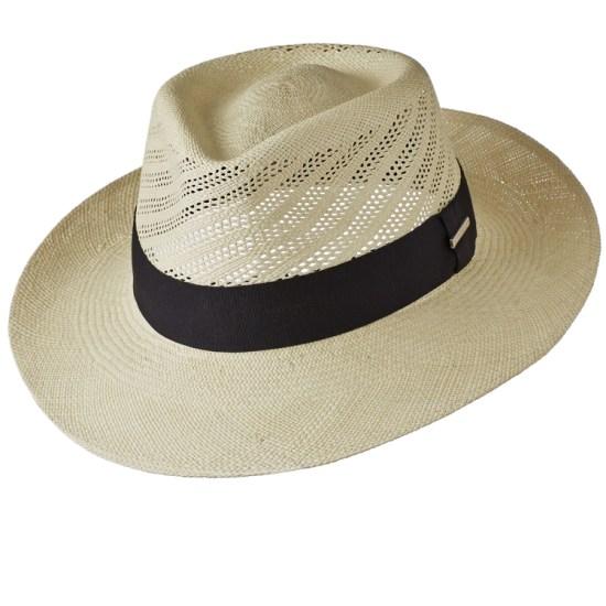 Golf style Panama hat