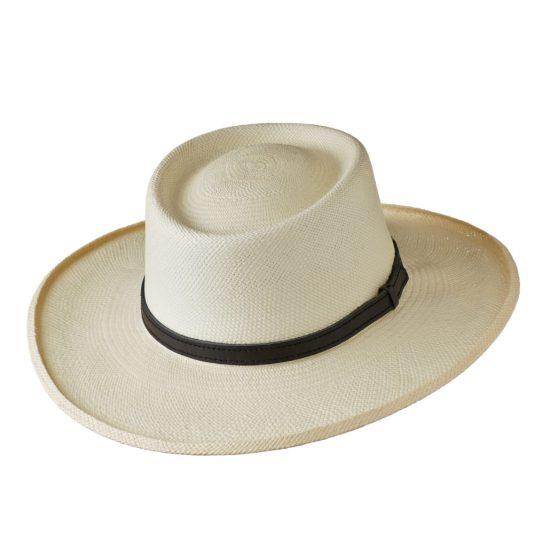 Planter style Panama hat