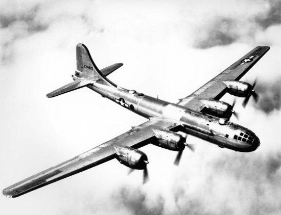 Bomber raids over Europe