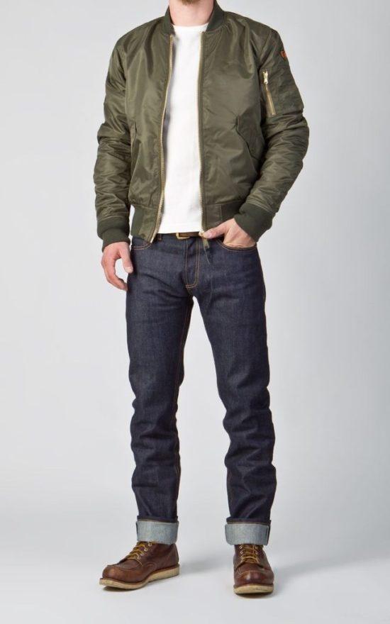 Casual bomber jacket style