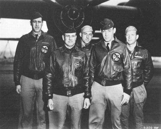 Jimmy Doolittle in a flight jacket