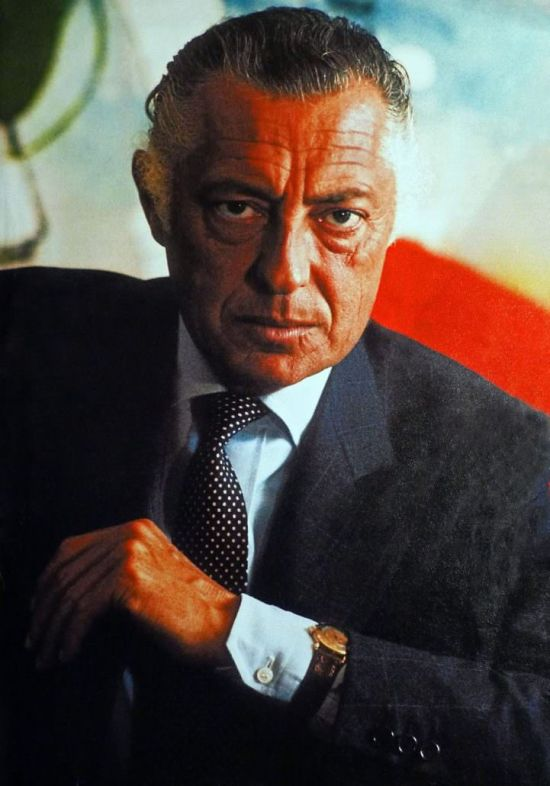Gianni Agnelli and his Patek Philippe 1415 HU, or Universal Time