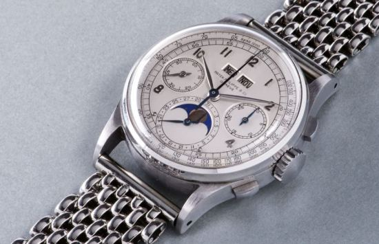The reference 1518, the most expensive wristwatch ever