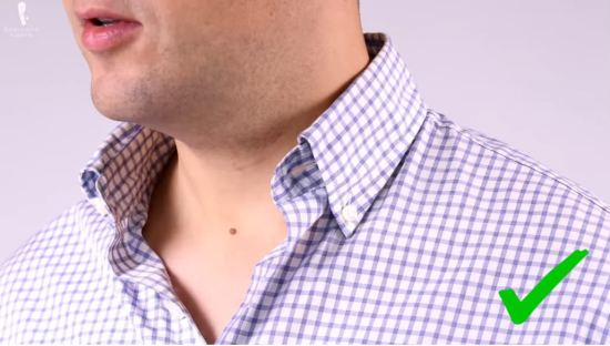 A checked dress shirt for casual night outs