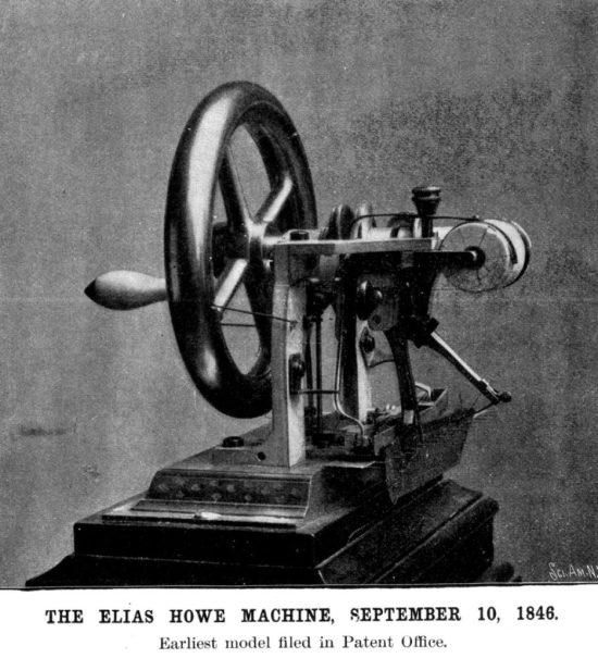 Sewing machine 1849